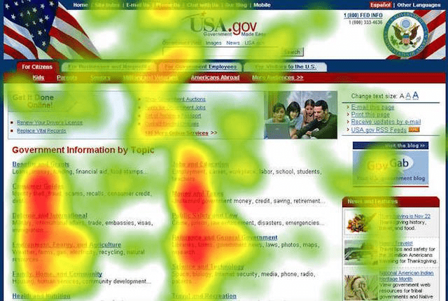 Example Heat Map